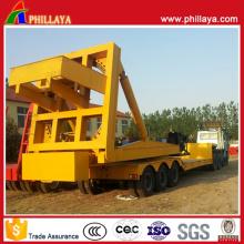 Remorques 360 semi rotatives de véhicule de transport d'équipement de lame de vent