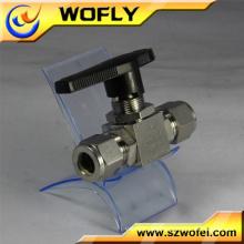 1 pulgada accionador neumático válvula de bola soldada llena