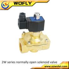 """1/2 """"Inch Normalmente aberto Elétrico Inoxidável Ar Água Gás Solenóide Válvula 24V AC"""