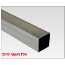 Aluminum 20mm Curtain Rod