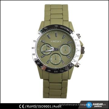 Nouveaux hommes de montres de promotion, modèles de montres à quartz