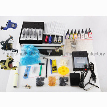 Long Life Tattoo Kit 3 Guns Type Tattoo Machine Power Supply
