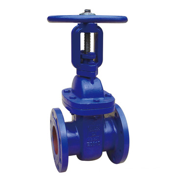 DIN3352 F4 Flanged Metal Seated Gate Valve, Rising Stem