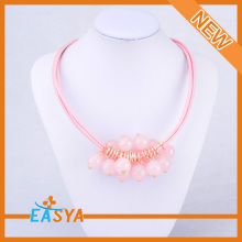 Fashion Jewellery Pink Beaded Jewelry Designs