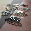 Accesorios decorativos del cinturón del bolso de la uña (O36-709A)