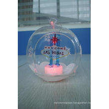 Glass Las Vegas Ornament LED Light (KLL83741-1A)
