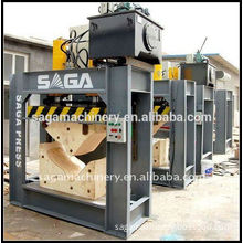 Wood heating press machine with high frequency for furniture