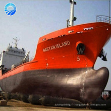 Gonflable en caoutchouc Dia1.5x12 m 7 couches bateau de vie Navy airbag