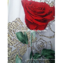 3d printed flower fabric used for bed sheet