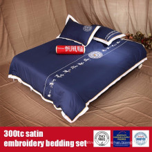 Cotton 300TC Satin Embroidery Hotel Quality Bed Linen