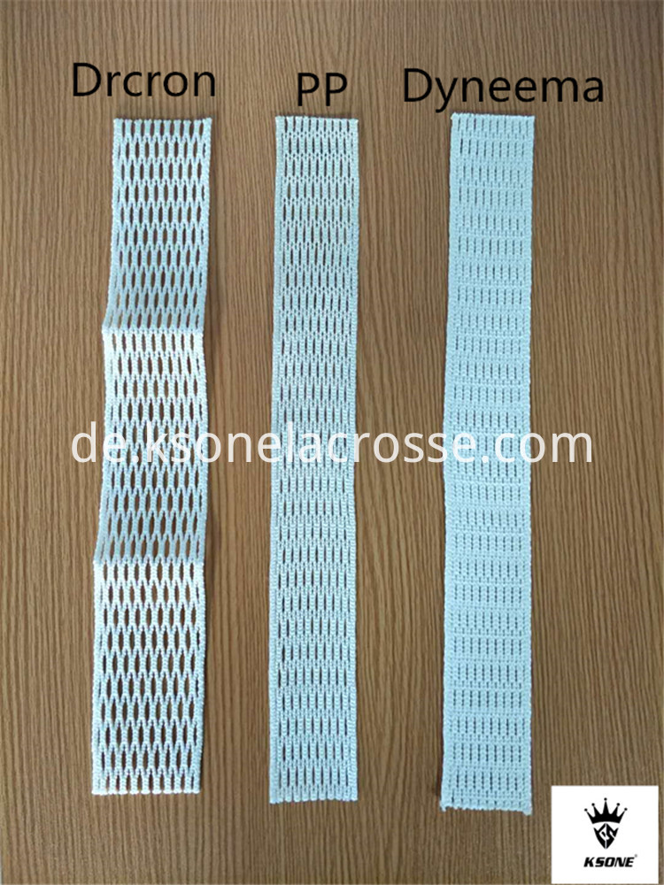3 Kinds Of Lacrosse Mesh