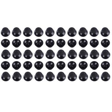 3D Analog Cap Cover Thumb Sticks Joystick Thumbstick Champignon Cap Couverture Pour Microsoft XBOX 360 Contrôleur Noir