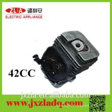 42CC Electroplaquage Aluminium Die Casting Parts Cylindre de essence Tronçonneuse pour outils de jardin