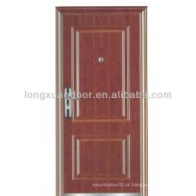 Porta de madeira de 3 horas com fogo marcado na China com padrão BS & GB