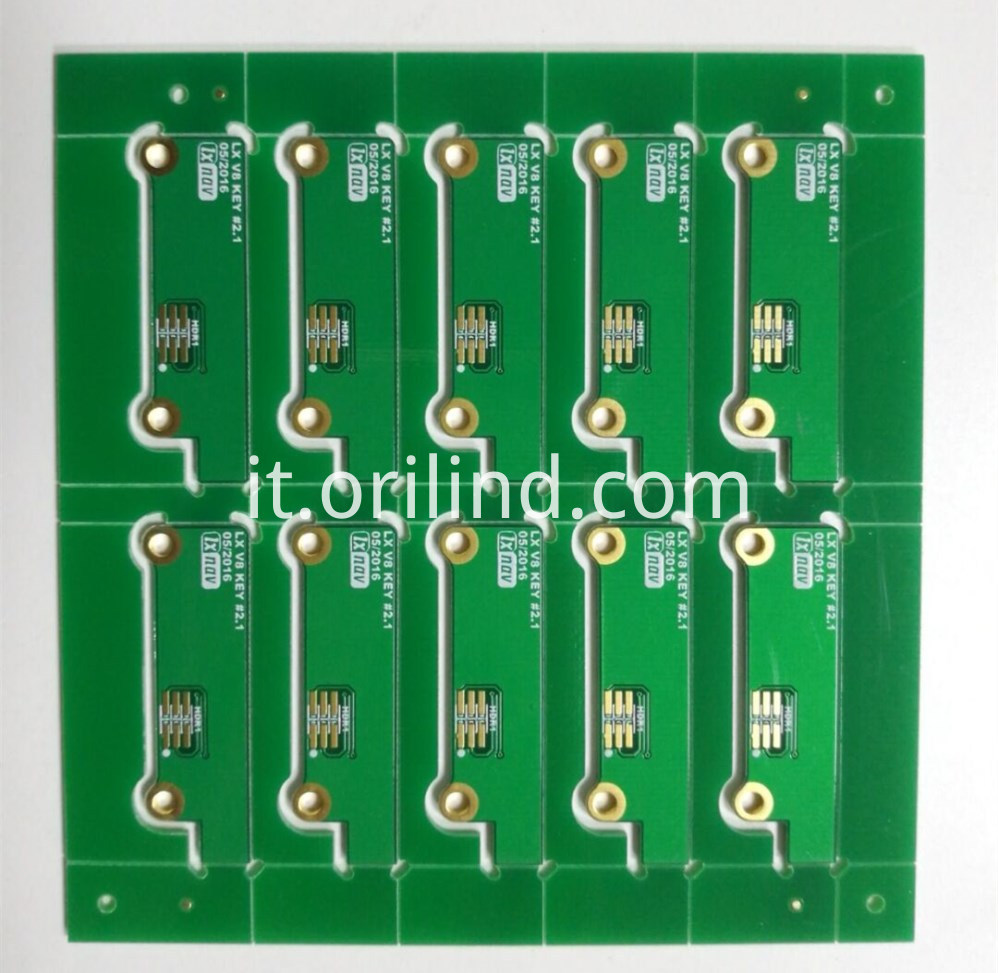 ENIG finished pcb