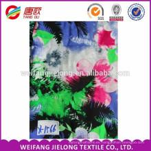 Nueva producción de impresión rayón / viscosa faldas de tela al por mayor