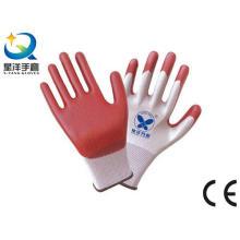 13G Polyester mit Nitril beschichtet, Sicherheits-Arbeitshandschuhe (N6022)