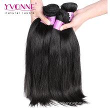 Cabelo virgem malaio reto do cabelo humano de 100%