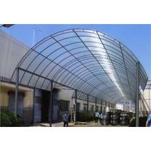 Waterproof Steel Sunshade PC Panel Shed Canopy