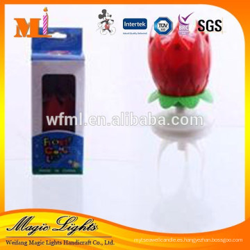 Vela flor de apertura para la venta