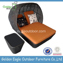 Cheap Outdoor Furniture Garden Single Sofabed