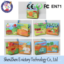 4 Assorted Animal Cloth Book For Baby Cloth Book