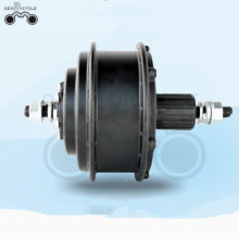 Electric disc brake cassette bicycle motor