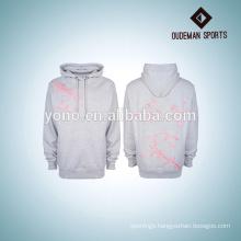 2017 blank hoodies high quality OEM pullover wholesale plain white grey hoodie