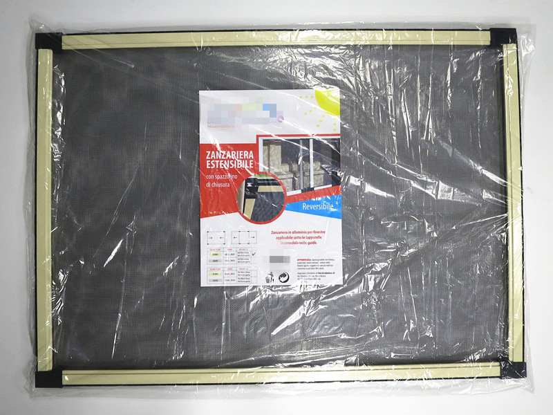 sliding screen window polybag packing
