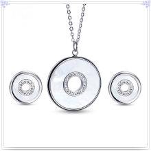 Accessoires de mode Bijoux fantaisie Ensemble de bijoux en acier inoxydable (JS0257)