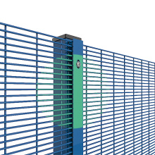 PVC coated 358 welded mesh fencing