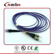 Cable de parche de fibra Simplex 9 / 125um SMA MTRJ en red de acceso óptico (OAN)