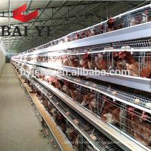 BAIYI Batterieschicht / Broiler Hühnerkäfig