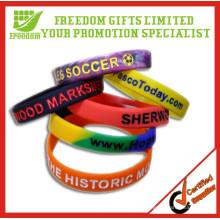 Werbeartikel Top-Qualität benutzerdefinierte Silikon-Armband