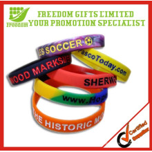 Promotional Top Quality Custom Silicone Wristband