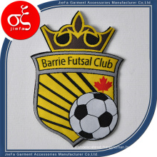 Custom Sport Football Party Logo Woven Patch Iron on Patches