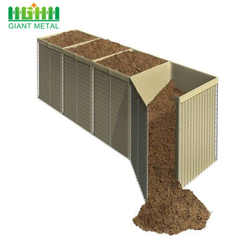 Barreira militar Hesco Wall Hesco Barrier