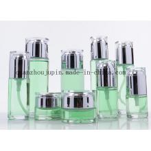 OEM Glas Cream Jar Lotion kosmetische Parfüm Flasche Set
