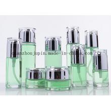 OEM Glass Cream Jar Lotion Cosmetic Perfume Bottle Set