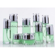 Grupo cosmético da garrafa de perfume da loção de creme de vidro do frasco do OEM