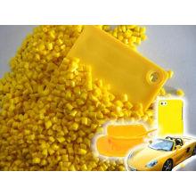 Masterbatch químico perlescente para amarillo