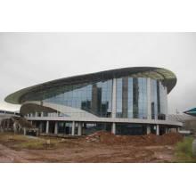 Prefab Estilo Nuevo Estructura de Acero Marco de Espacio Diseño de Estadio de Baloncesto