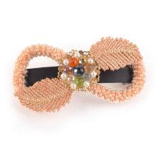 Fita de cetim beads hairband (xhb1421)