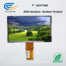 "7"" RGB Interface 50 Pin Touch Screen Monitor"