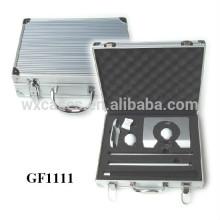caso de golf de aluminio portable de alta calidad con espuma personalizada Introduzca por mayor