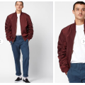 Young men Classic Bomber Jacket