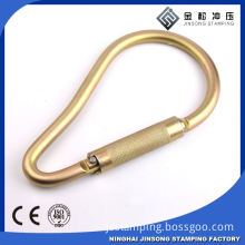 Metal Carabiner with key ring