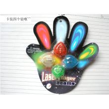 Dedo mágico LED luz para la decoración de la fiesta de Navidad