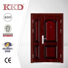 Haute qualité en acier de sécurité porte KKJ-301 avec un et l'autre moitié feuilles