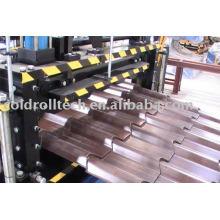 Rolo de telha de aço dá forma à máquina